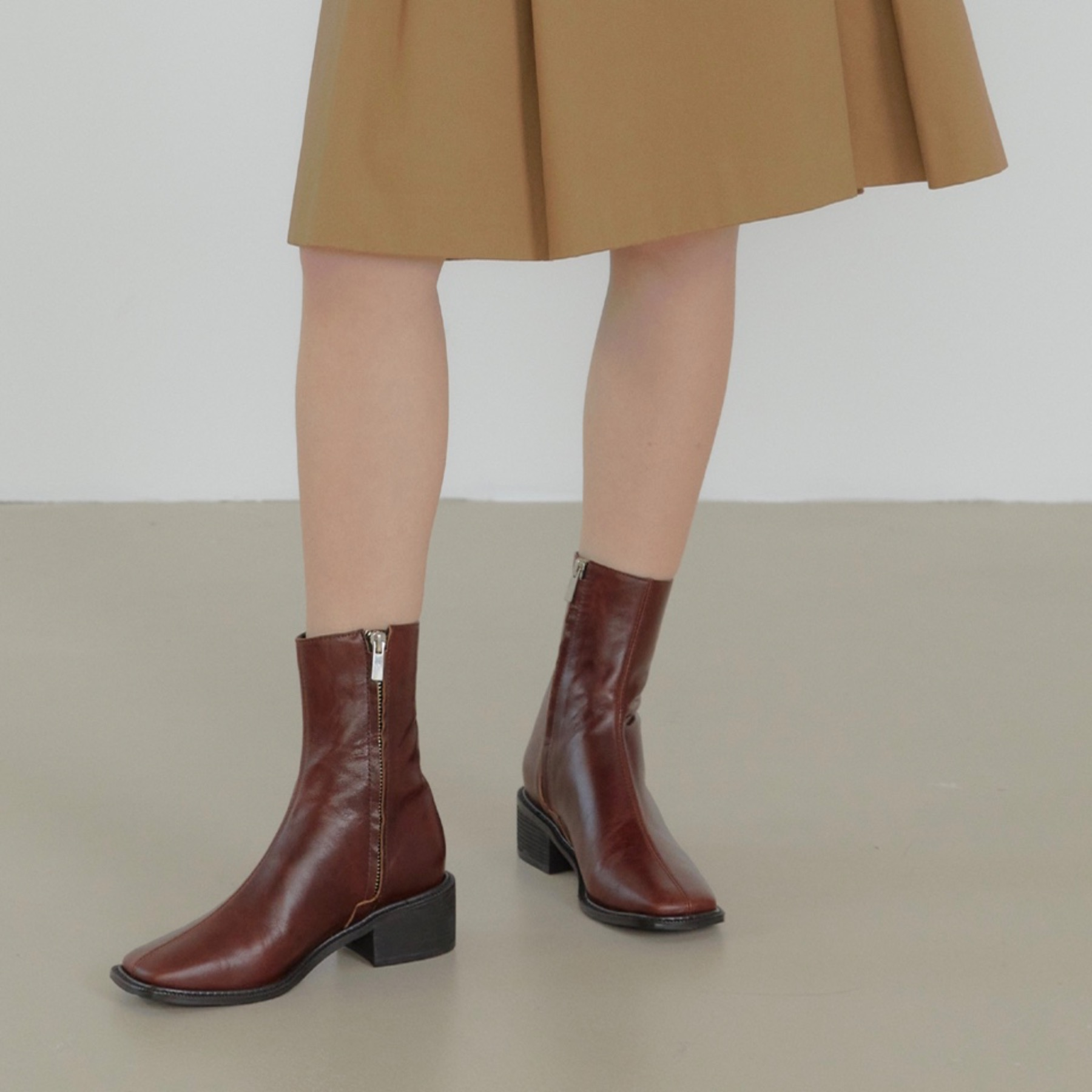 raya ankle boots(2 color)