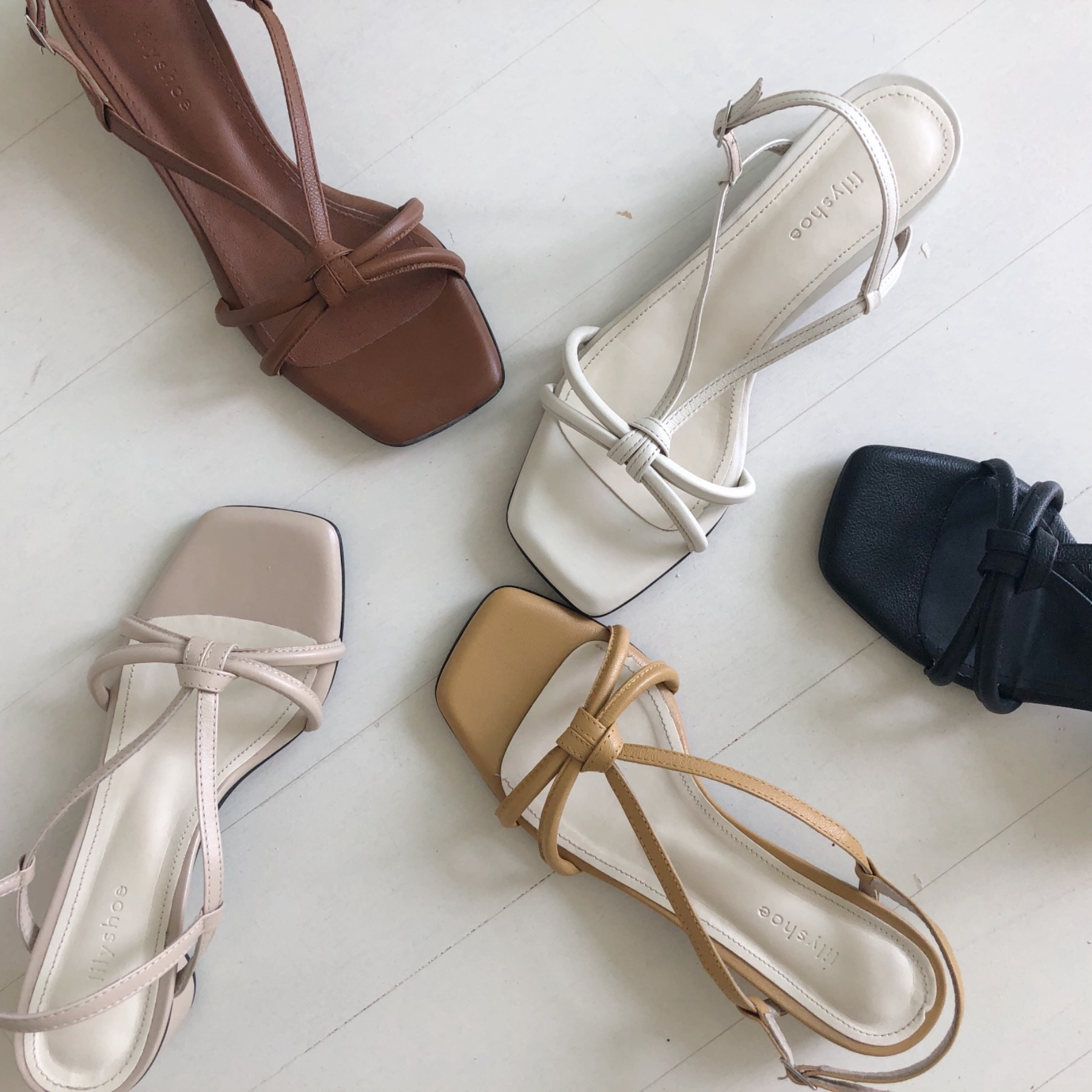 romance sandal(5 color)