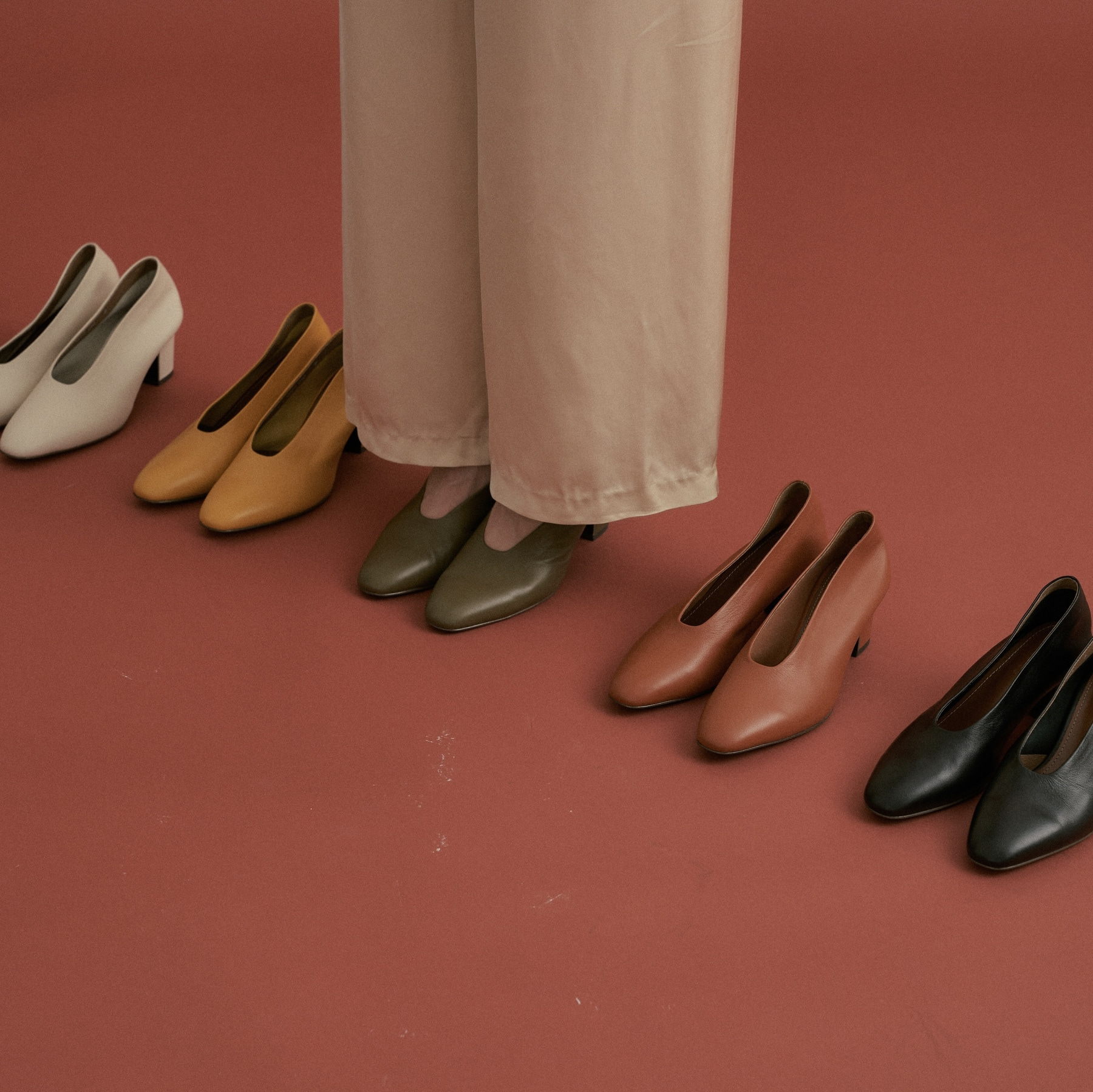 morina pumps(5 color)