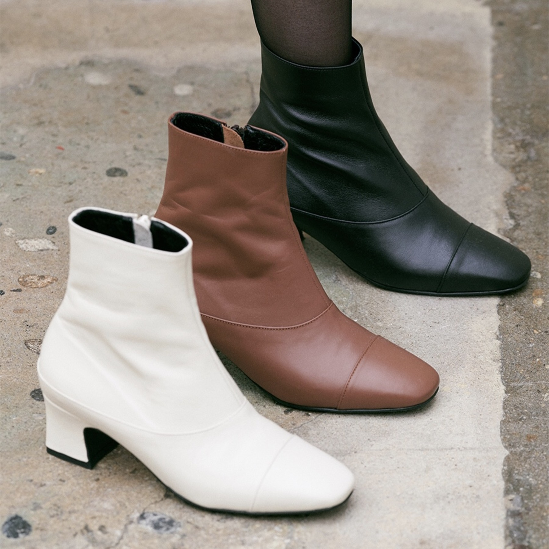 prina ankle boots(3 color)